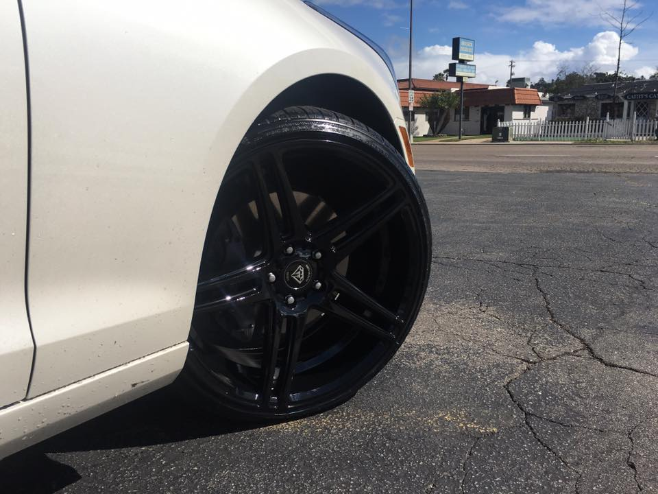 Black Rims from Audiosport