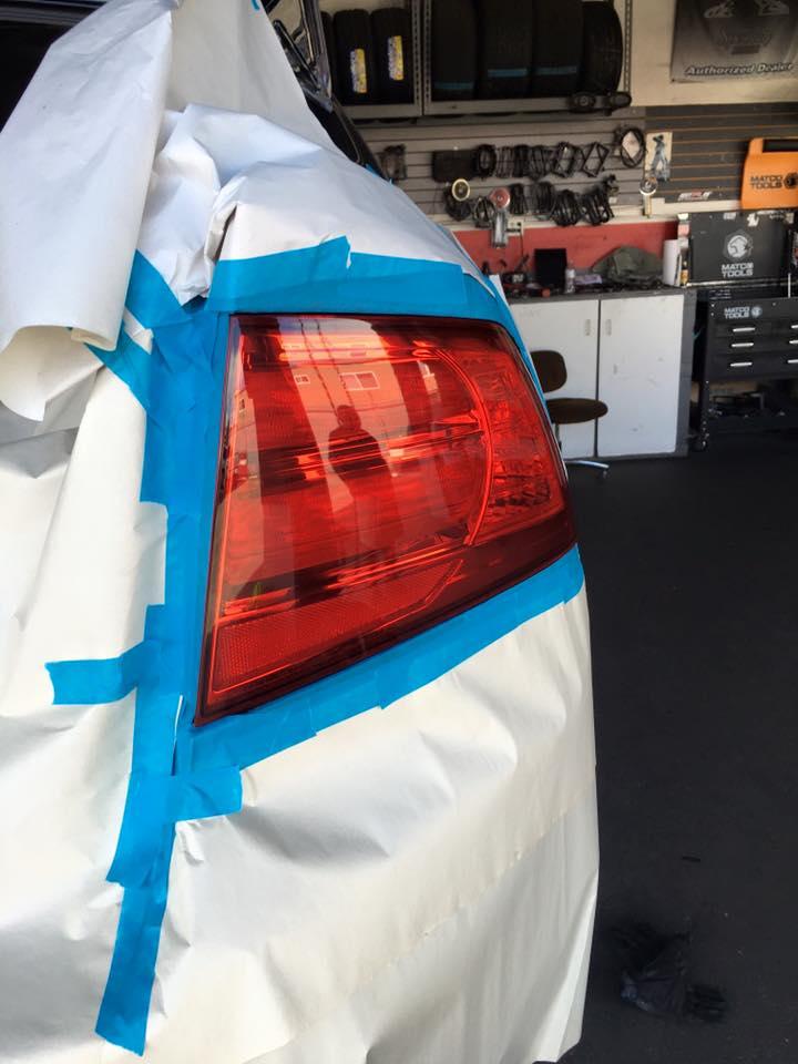Custom Car Taillights at Audiosport Escondido