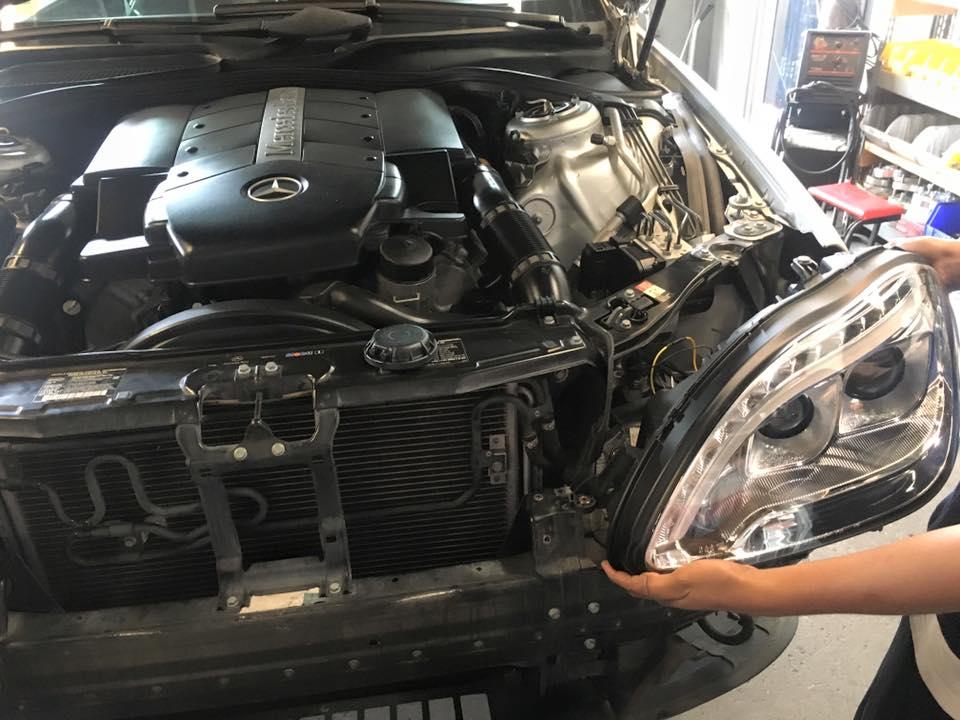 New Car Headlights and Car Headlamp Installation