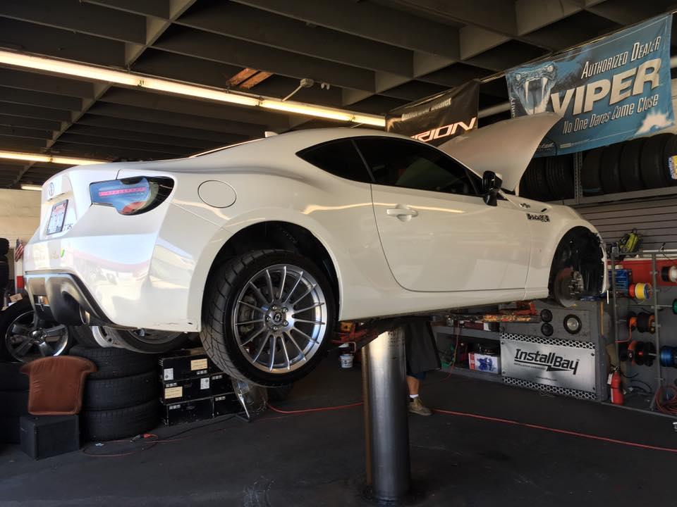 San Diego custom car installation
