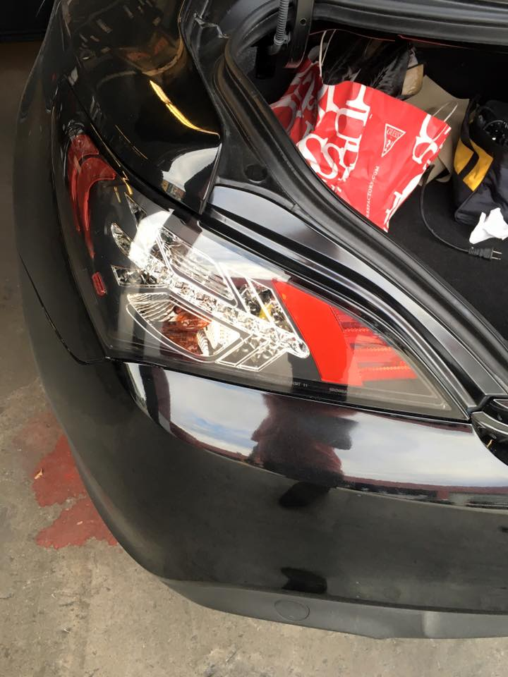 Custom Taillights and Headlights