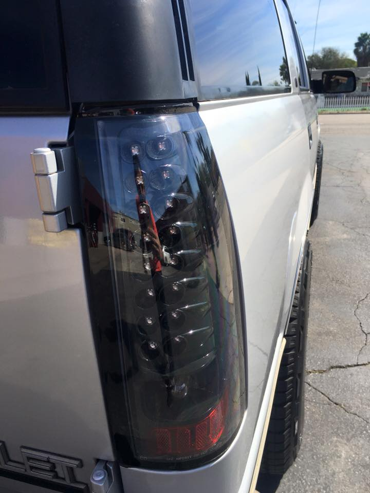 Taillight repair and new taillight installation