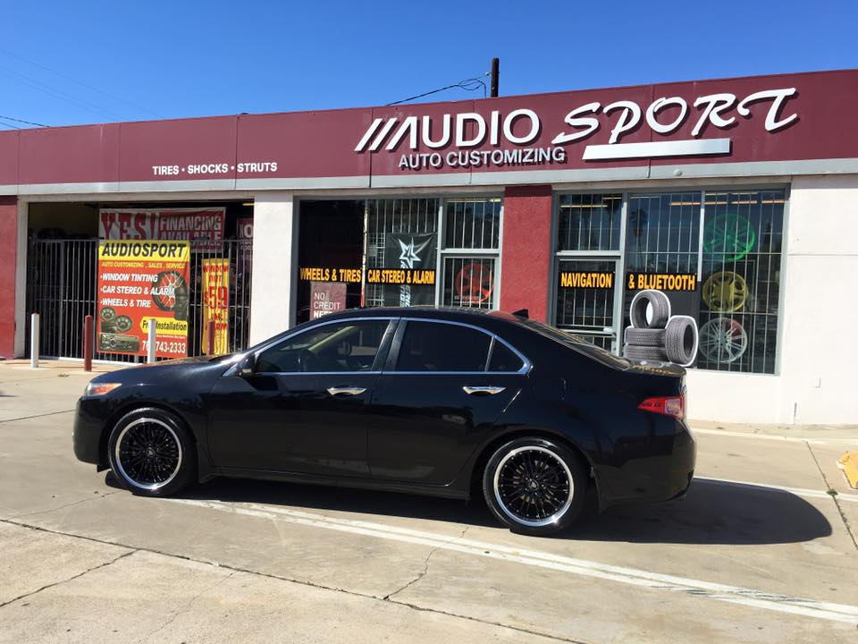 Audiosport Specializes in Window Tinting
