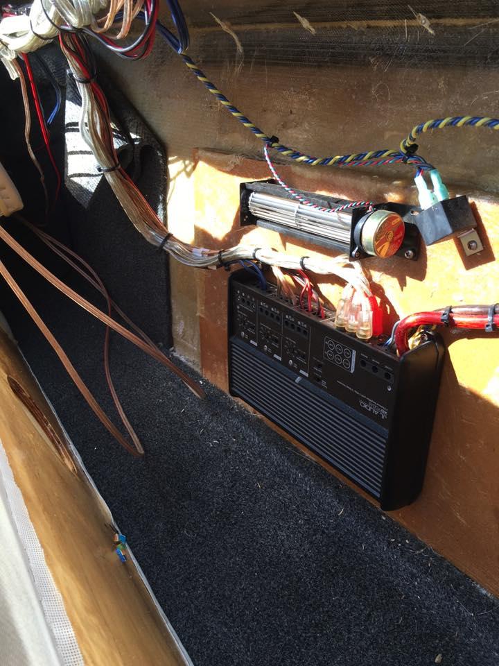 Custom Car Audio Installation at Audiosport Escondido