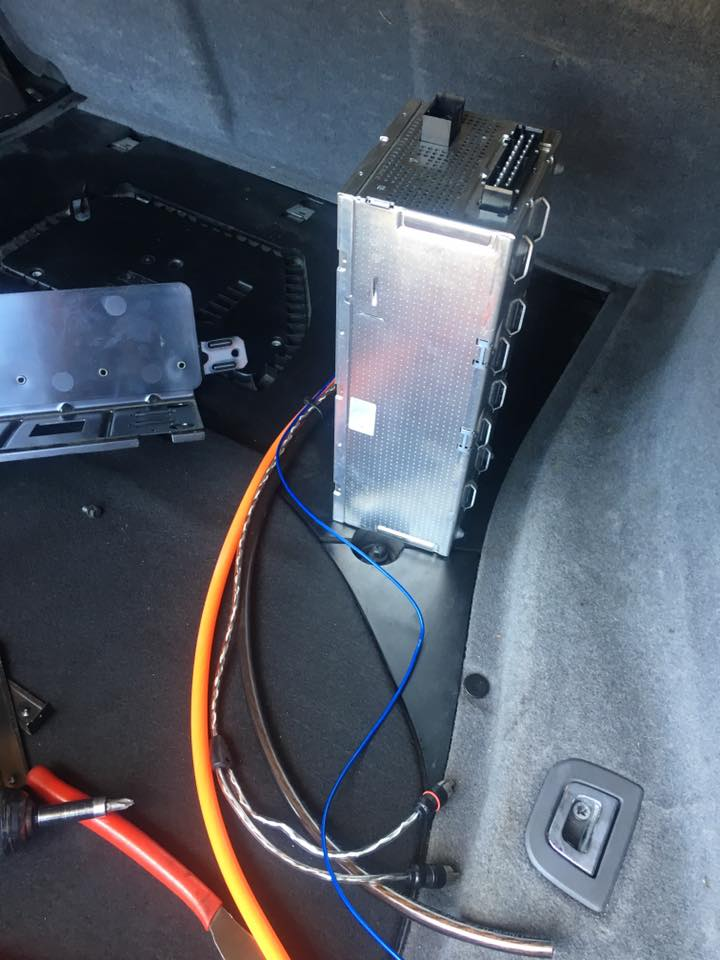 Car Amp installation at Audiosport Escondido