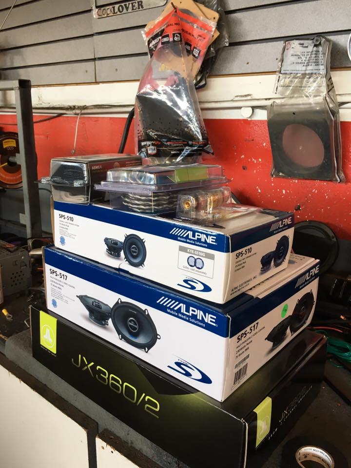 Alpine Car Stereo System at Audiosport Escondido