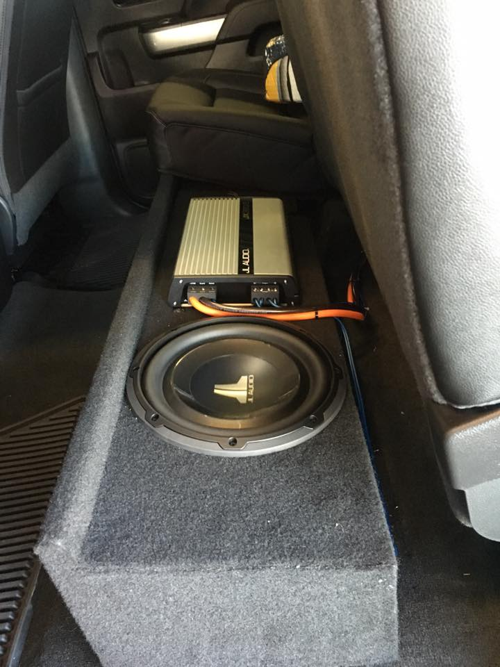 JL Audio Custom Stereo Installation