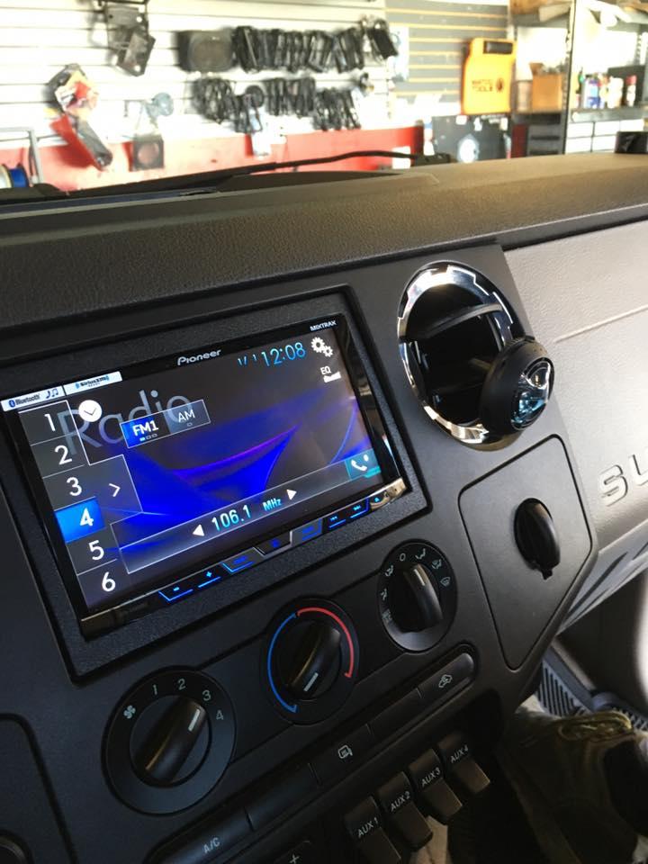 Car Stereo Installation at Audiosport