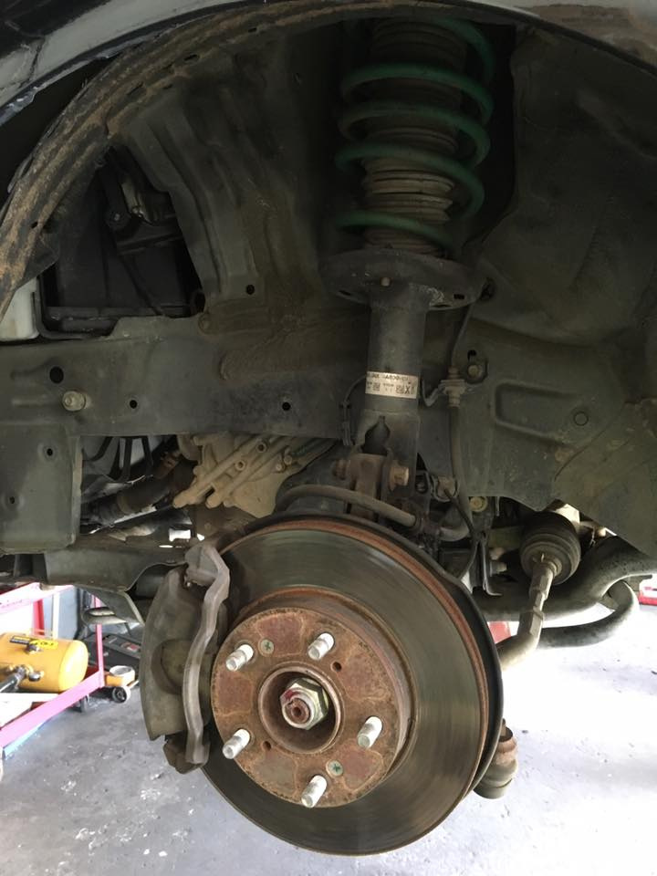 Custom Car Wheel installation in Escondido