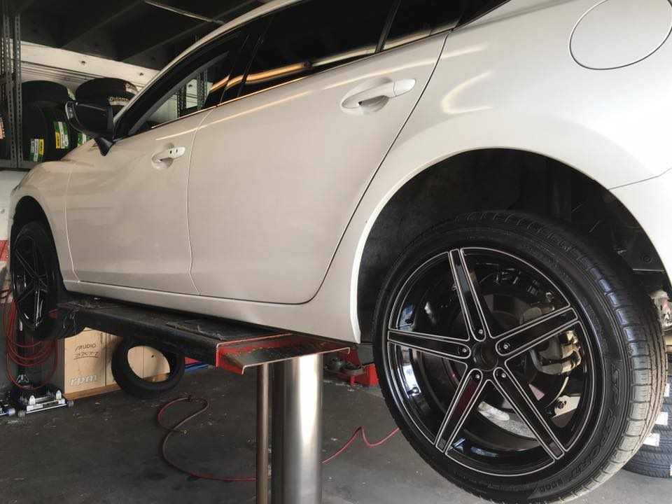 Get new tires at Audiosport Escondido