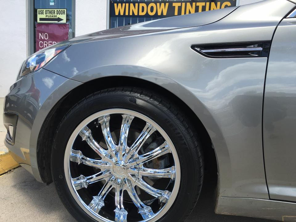 Get shiny new rims in Escondido