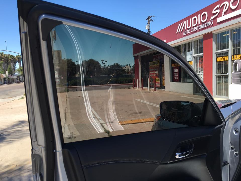 Get a top of the line window tint at Audiosport