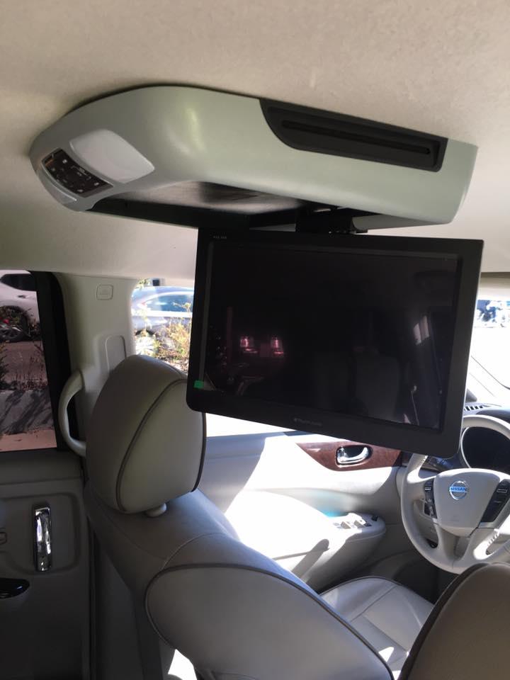 Car Video Player monitor installation in Escondido