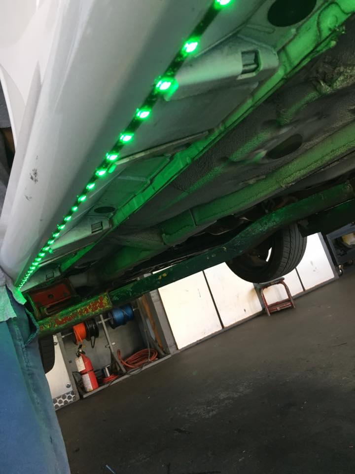 LED light installation in Escondido