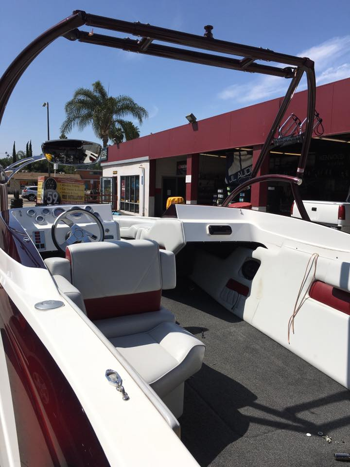 Install a New Boat Stereo System at Audiosport Escondido