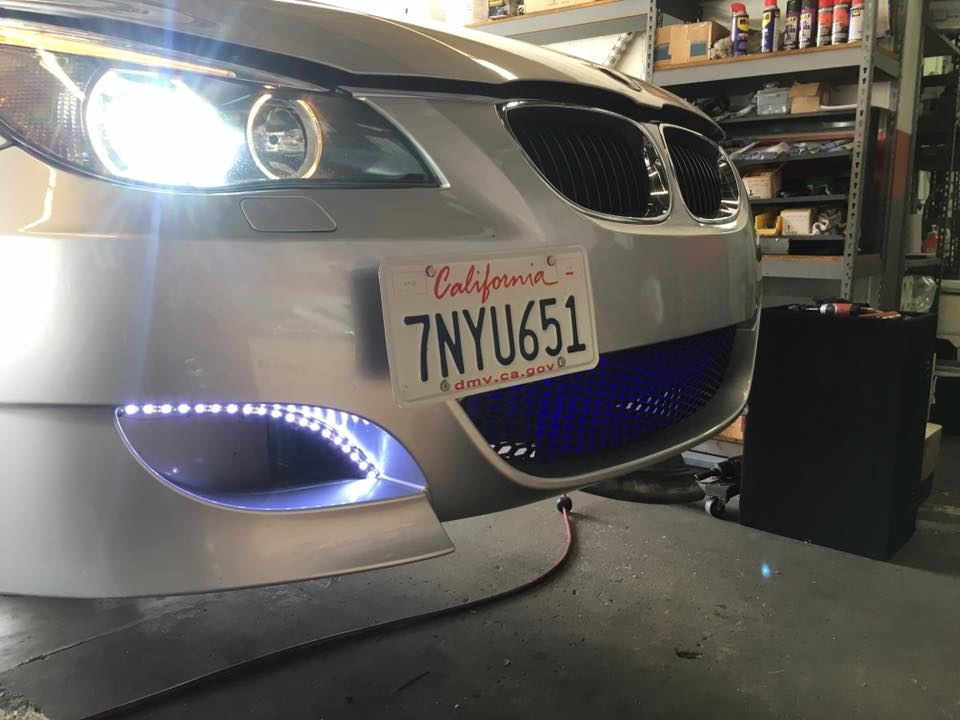 Get new lights on your car at Audiosport Escondido