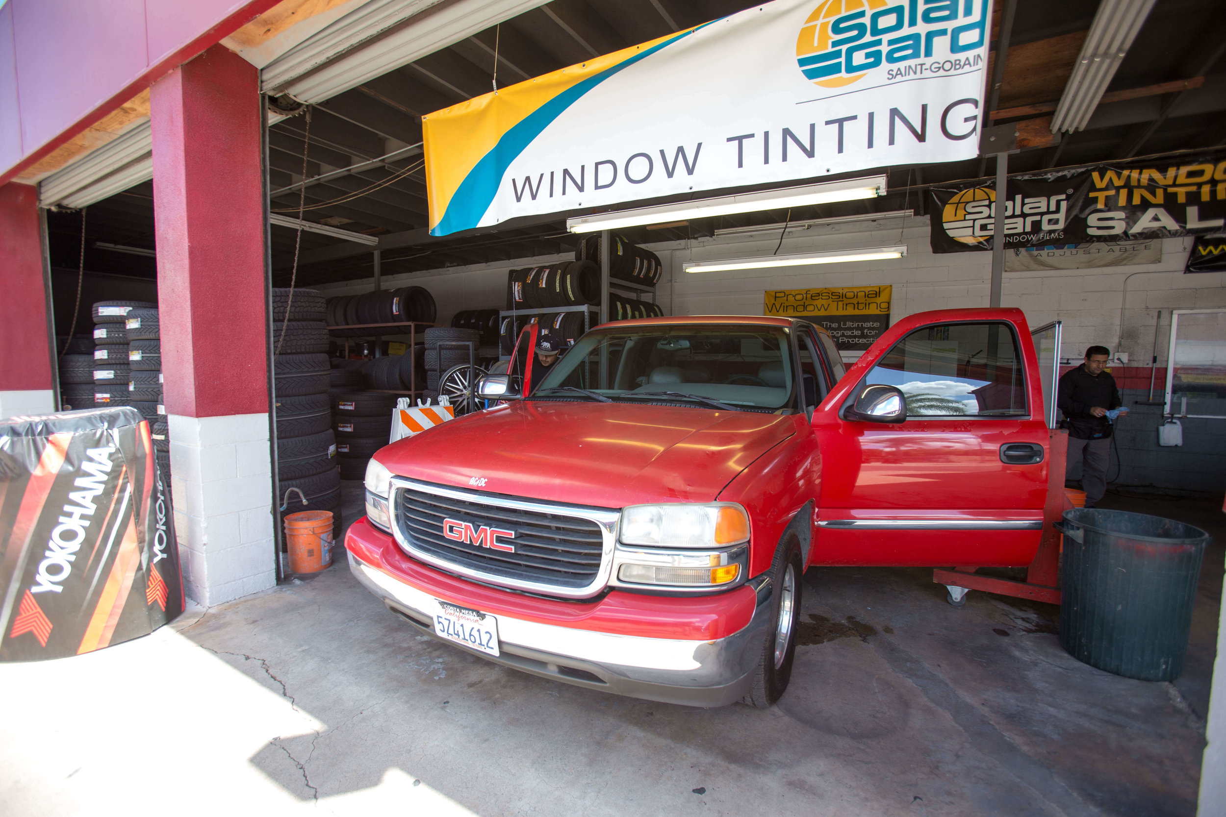 Get your tinted windows at Audiosport Escondido