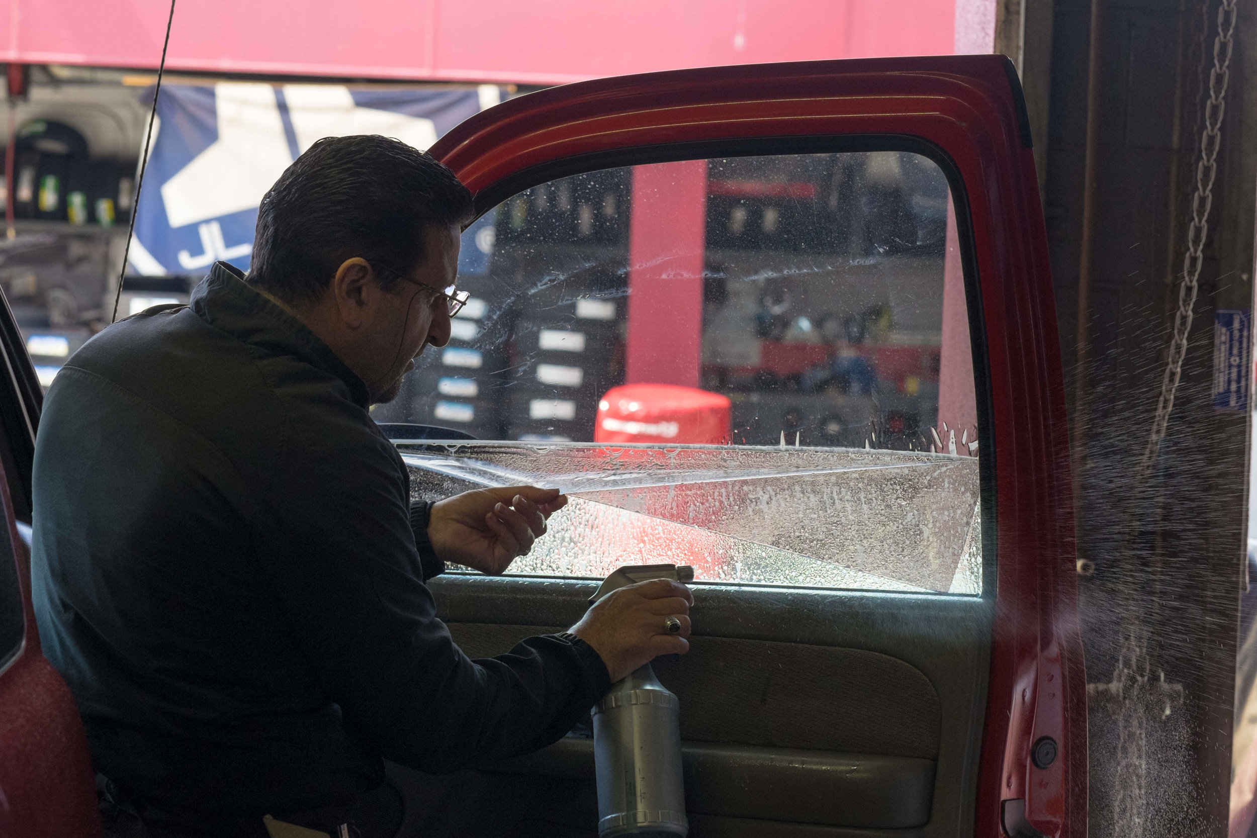 Get great window tinting at Audiosport Escondido