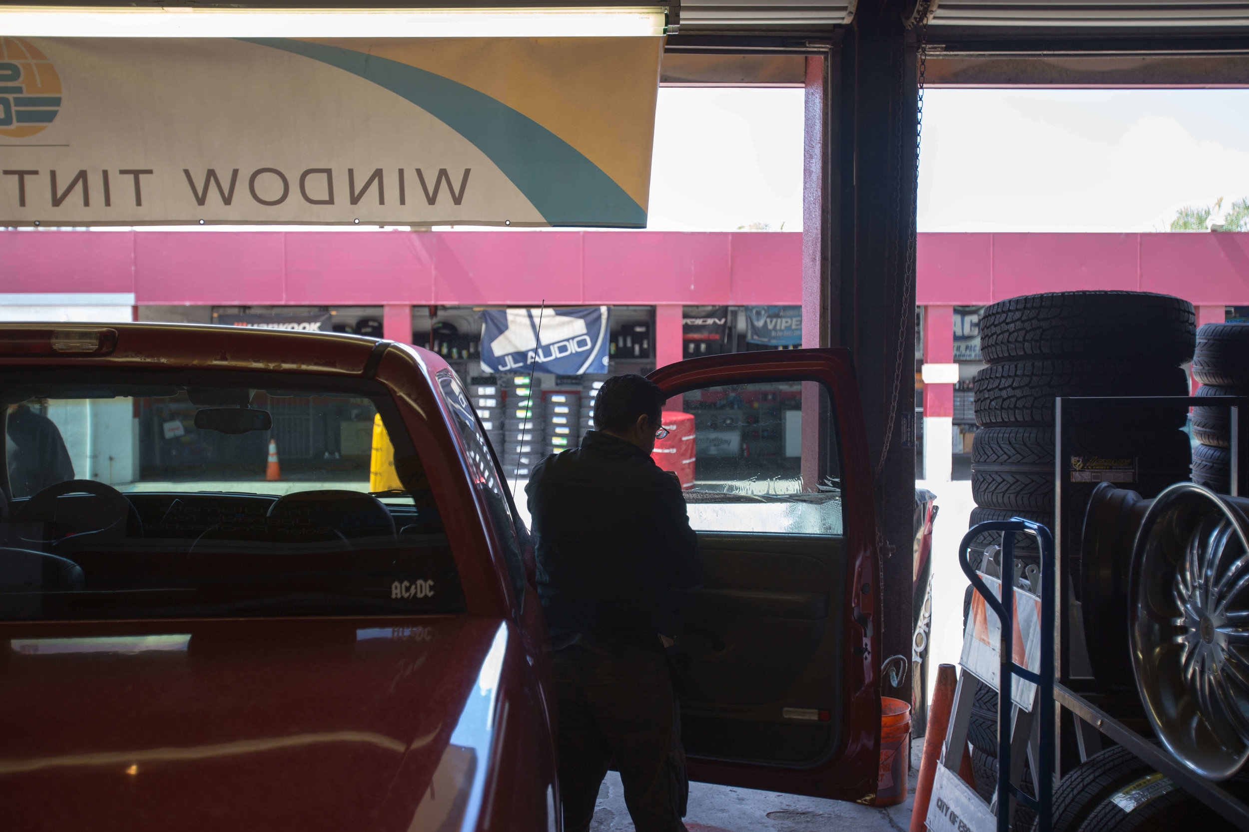 Get your windows tinted at Audiosport