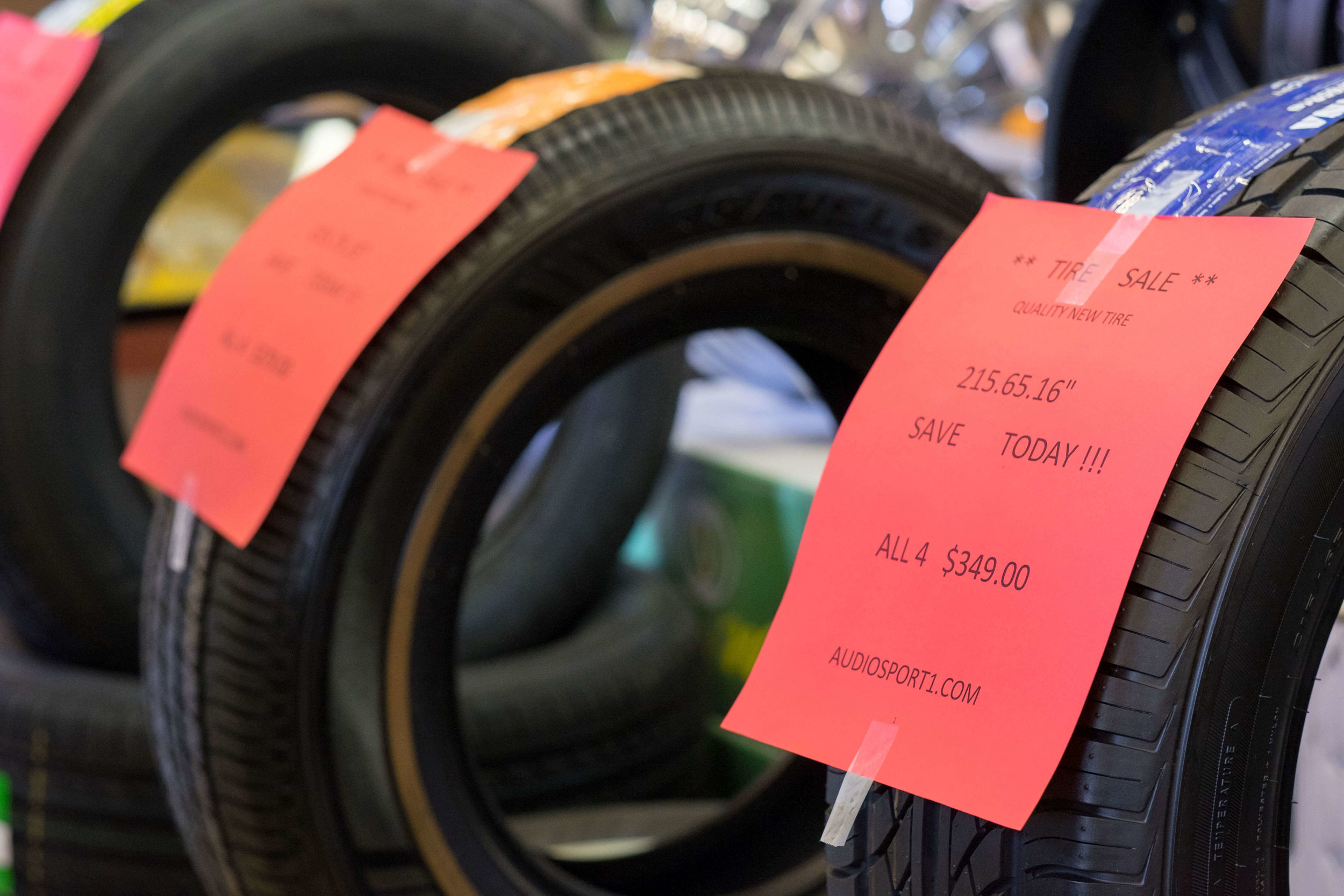 Tire sale at Audiosport Escondido