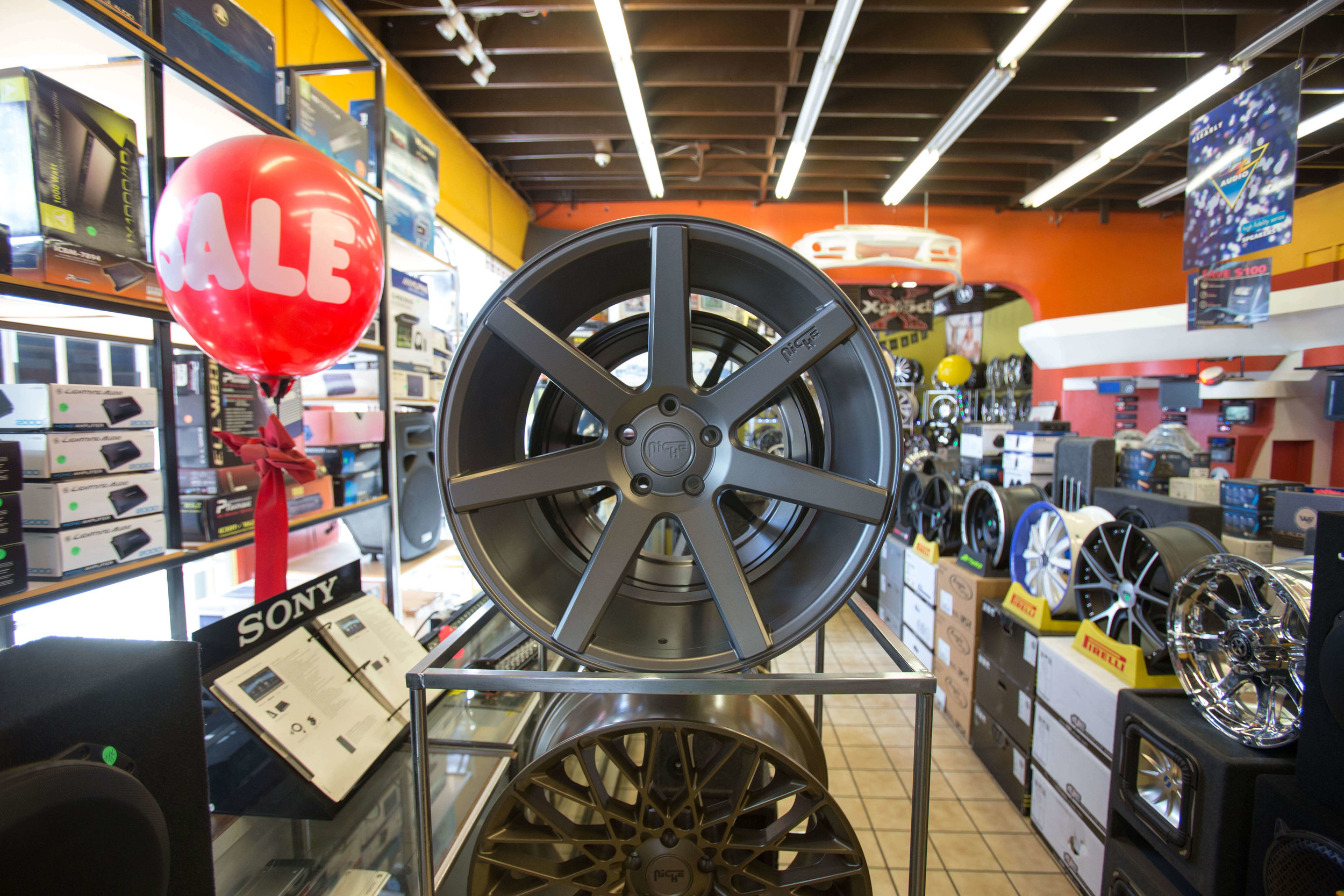 New rims for your car at Audiosport Escondido