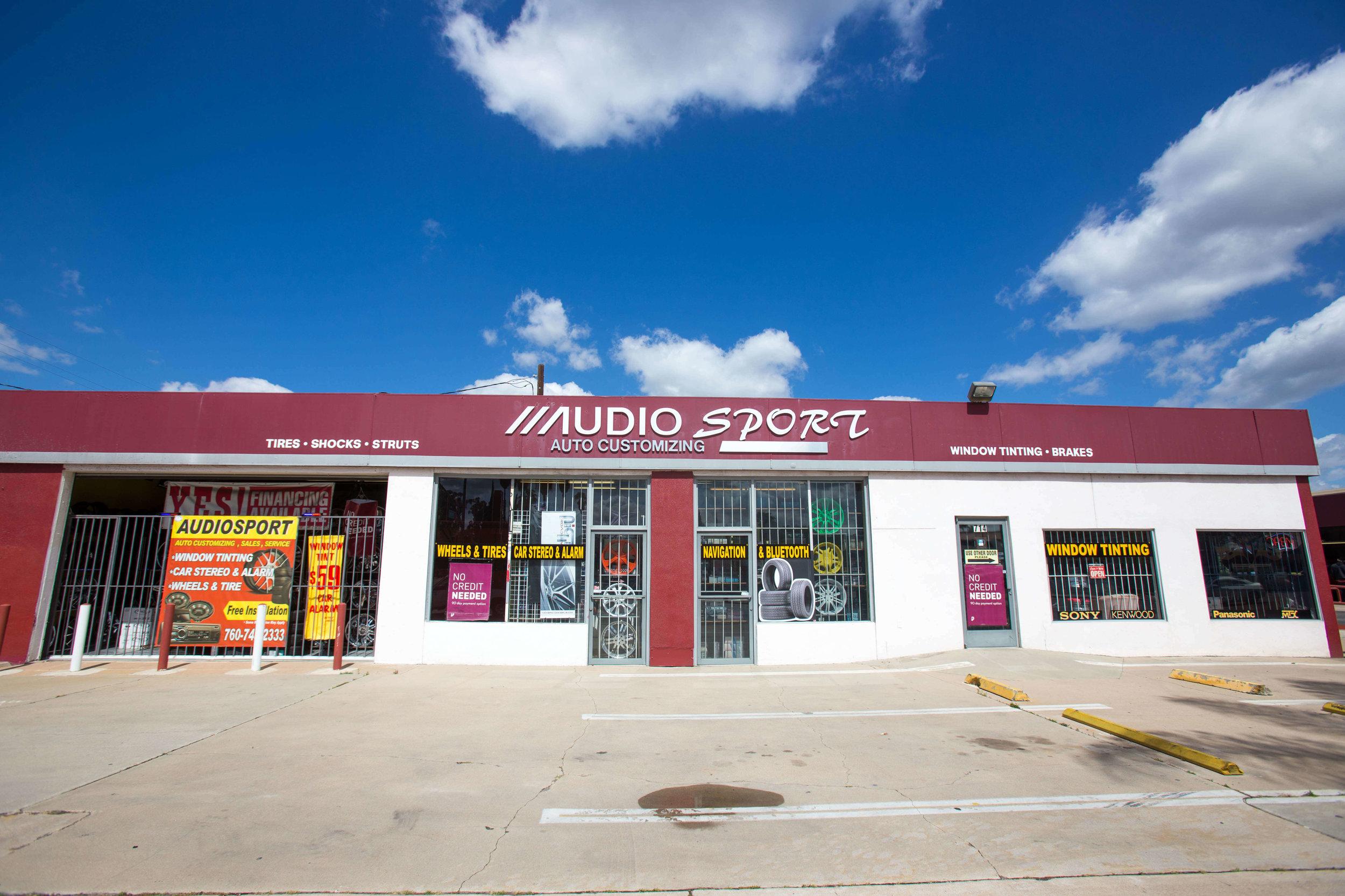 Audiosport in Escondido