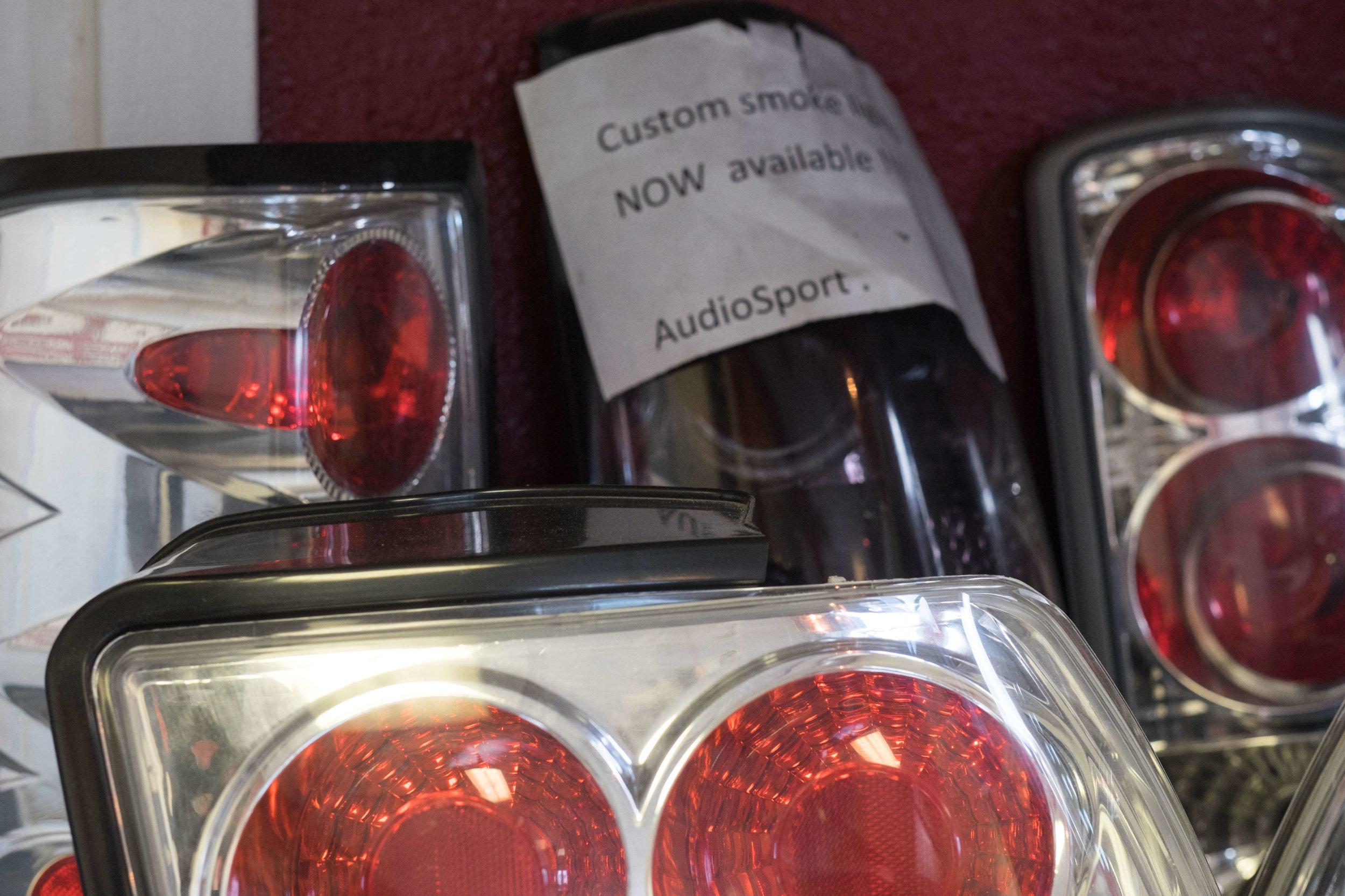 Get Custom Smoke Lights at Audiosport Escondido