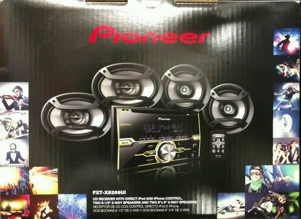Pioneer Car Speakers and Audio at Audiosport