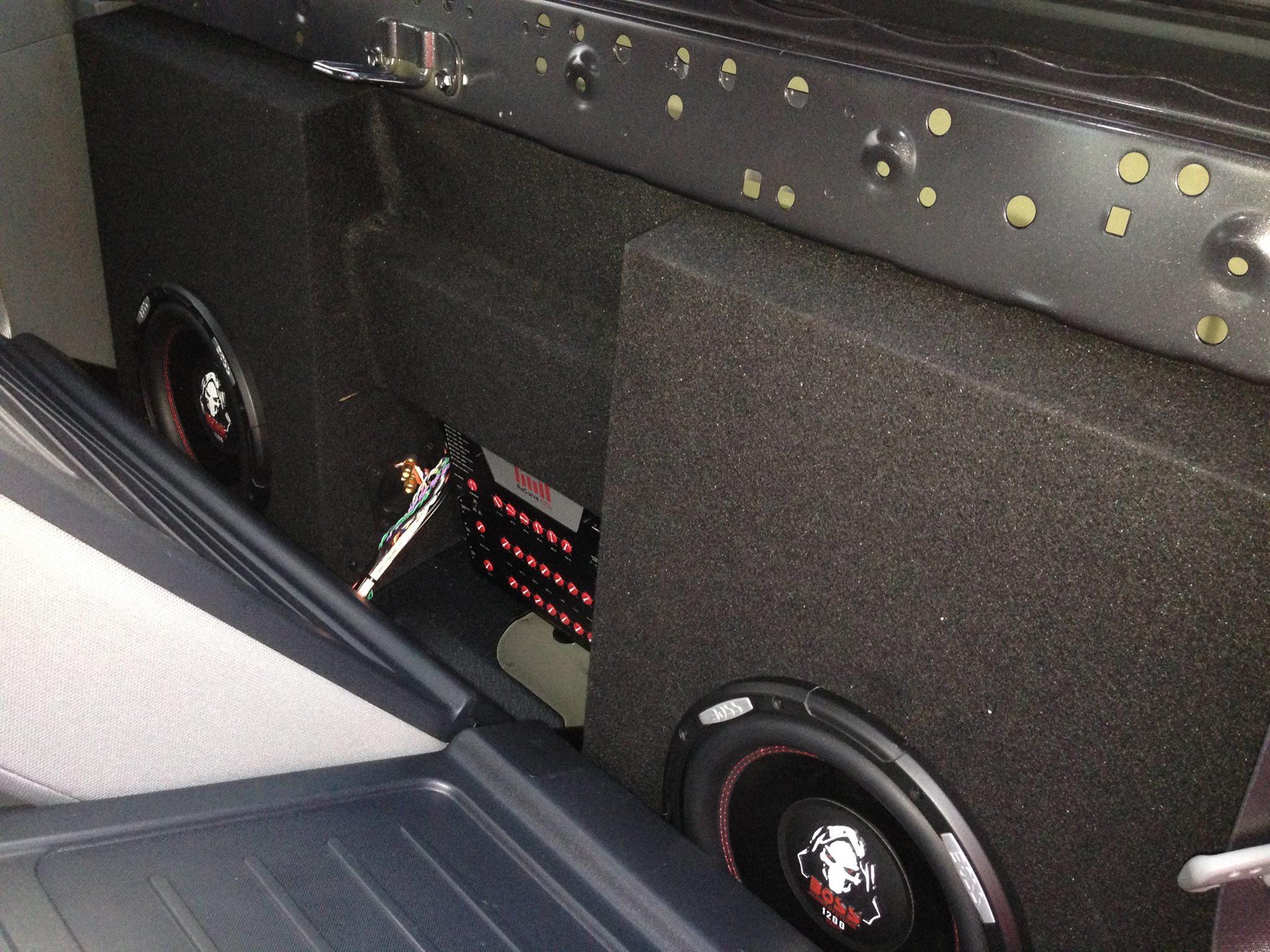Custom Car Speaker System Installation in Escondido