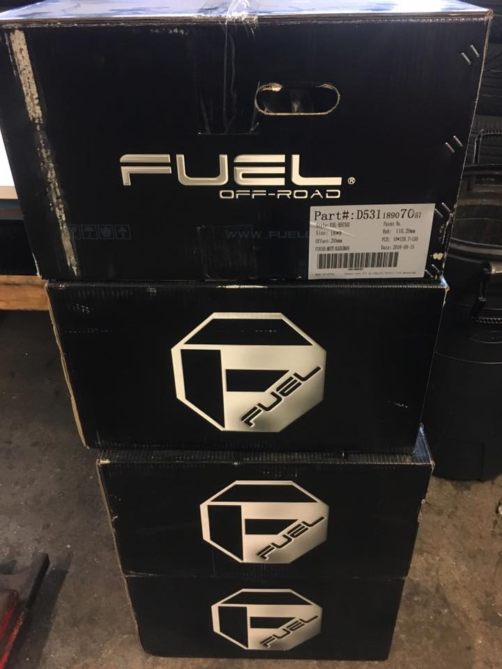 Fuel Offroading and Lift Kits from Audiosport