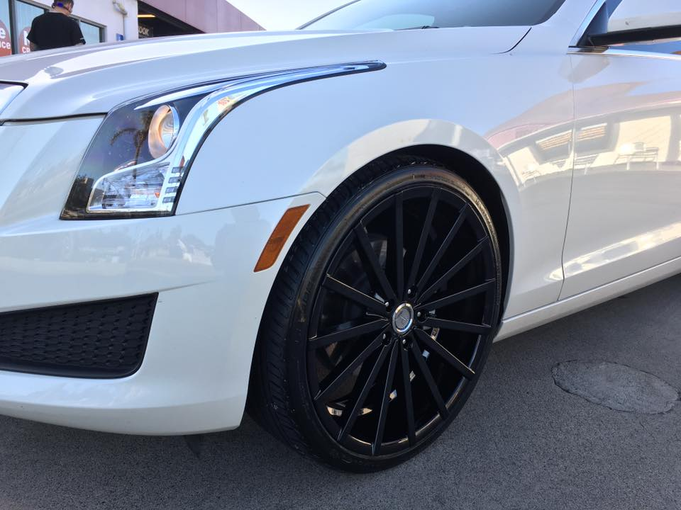 Black Rims and Black Wheels at Audiosport