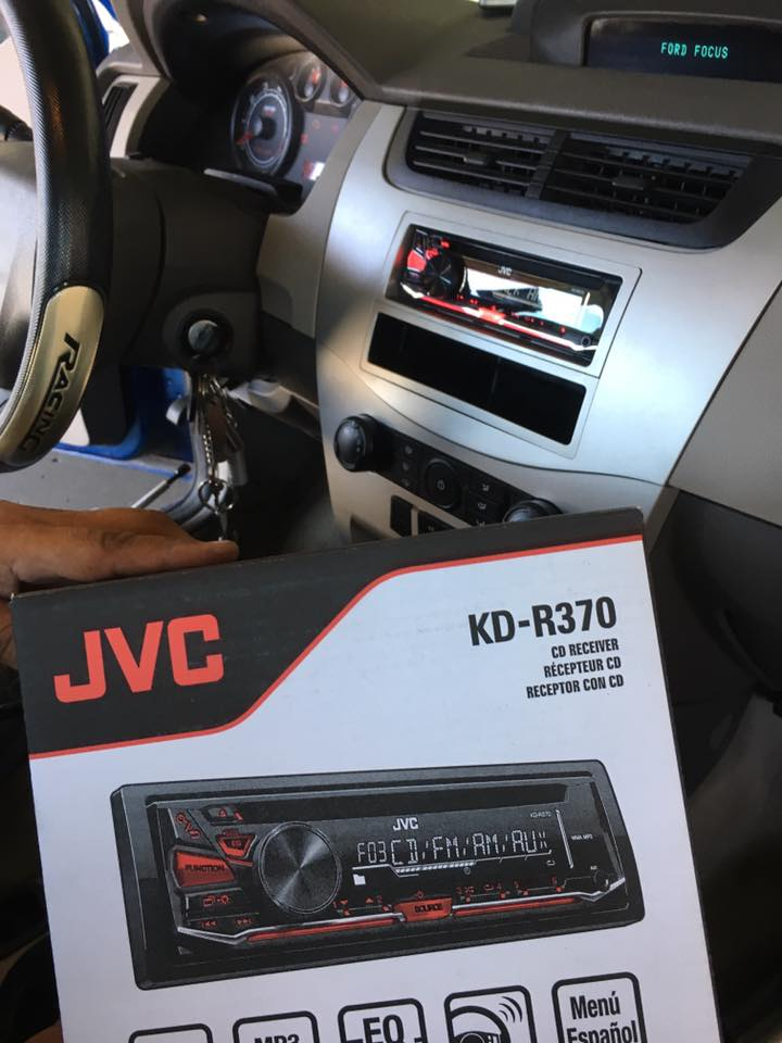 JVC Car Stereo installation in Escondido at Audiosport