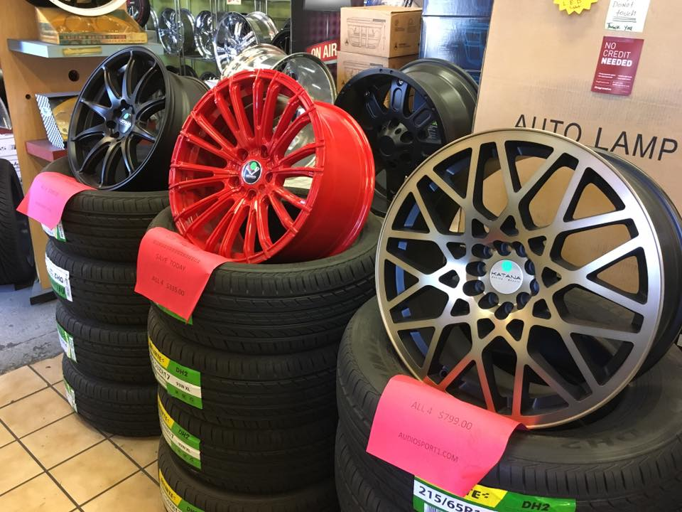 New Car Rims & Car Wheels at Audiosport Escondido