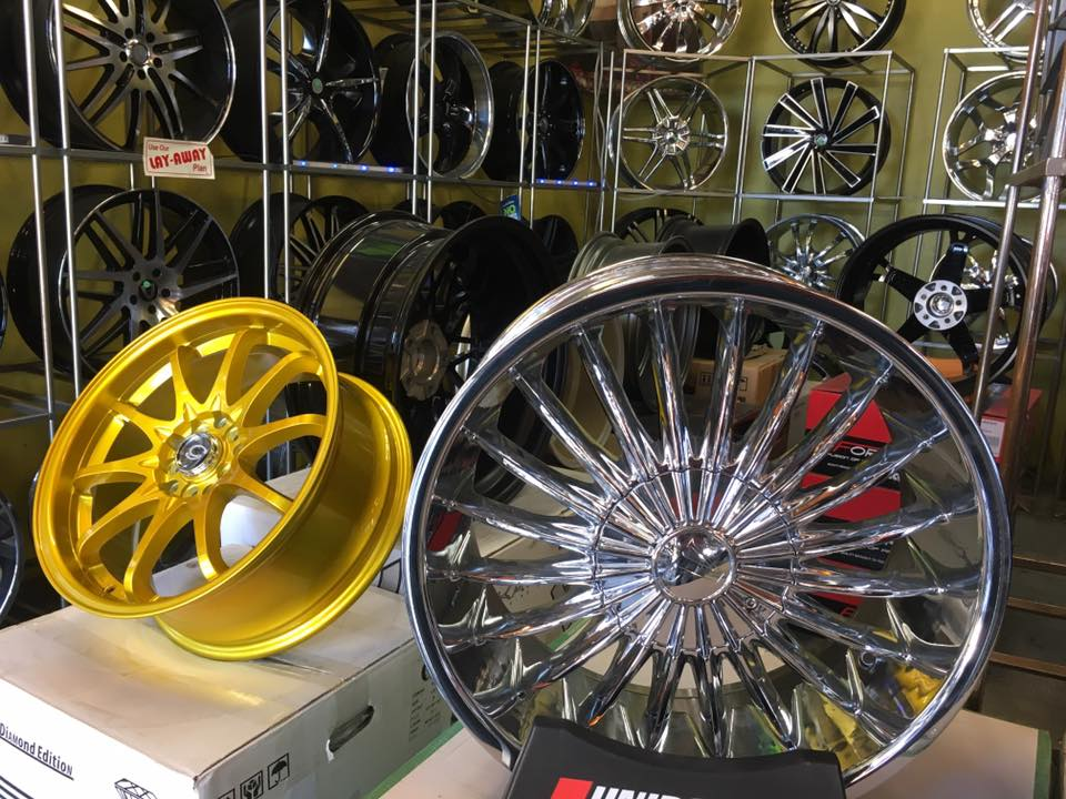 Rim Repair and New Rims at Audiosport Escondido