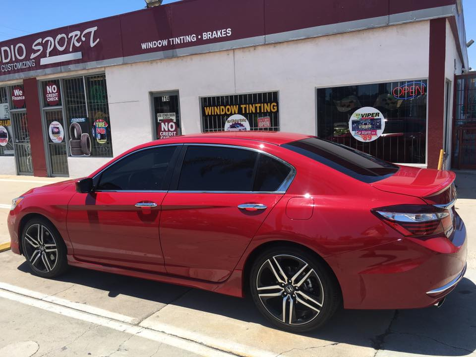 Rims and Window Tinting in Escondido