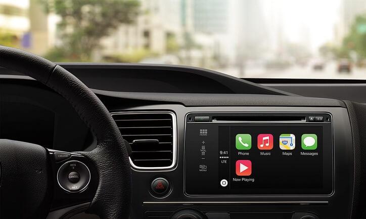 Apple CarPlay iPhone Integration at Audiosport Escondido.