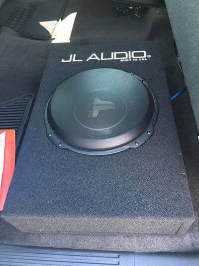 Car subwoofer for car stereo systems in Escondido