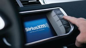 Sirius XM Satellite Radio installation.