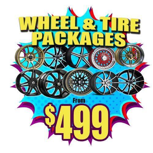 Cheap rims, tires and wheels with specials and discounts.