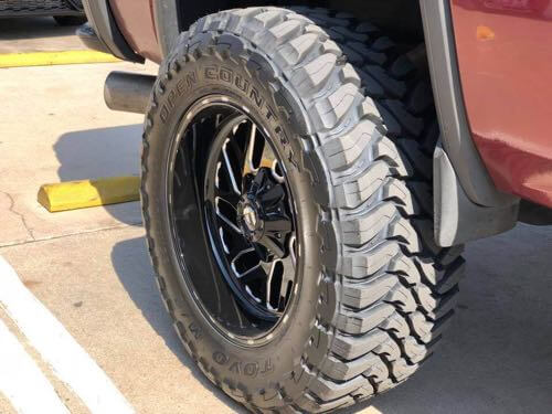 Tire tips for a road trip mud tires.