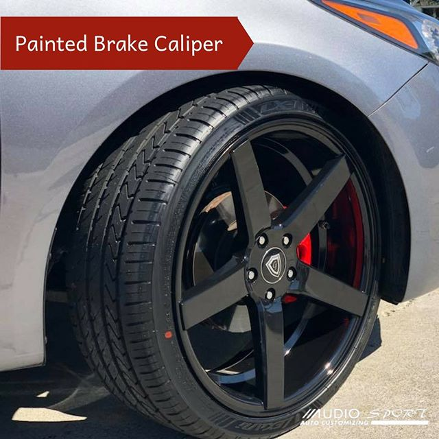 Add some edge to your ride with custom painted brake calipers. 💯Financing available-no credit needed.