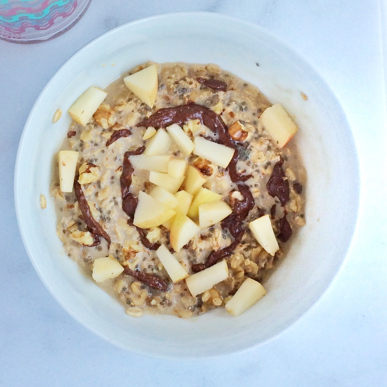 TOMT2, overnight latte oats