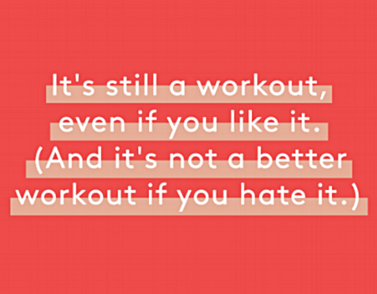 This picture is from an article on Refinery29 on rational fitness. Check it out!!