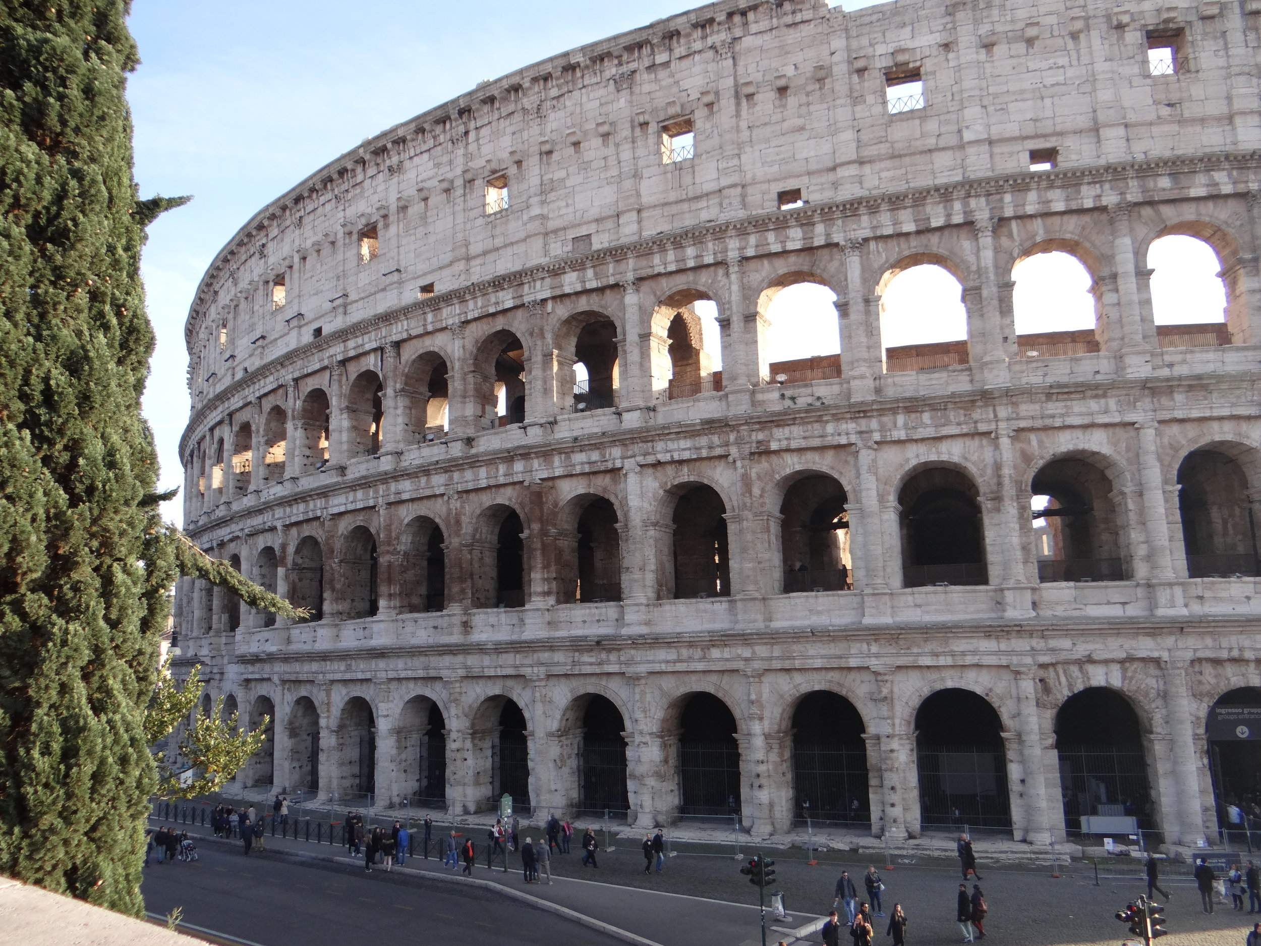 Oh hey there, Colosseum. This is well known, right??