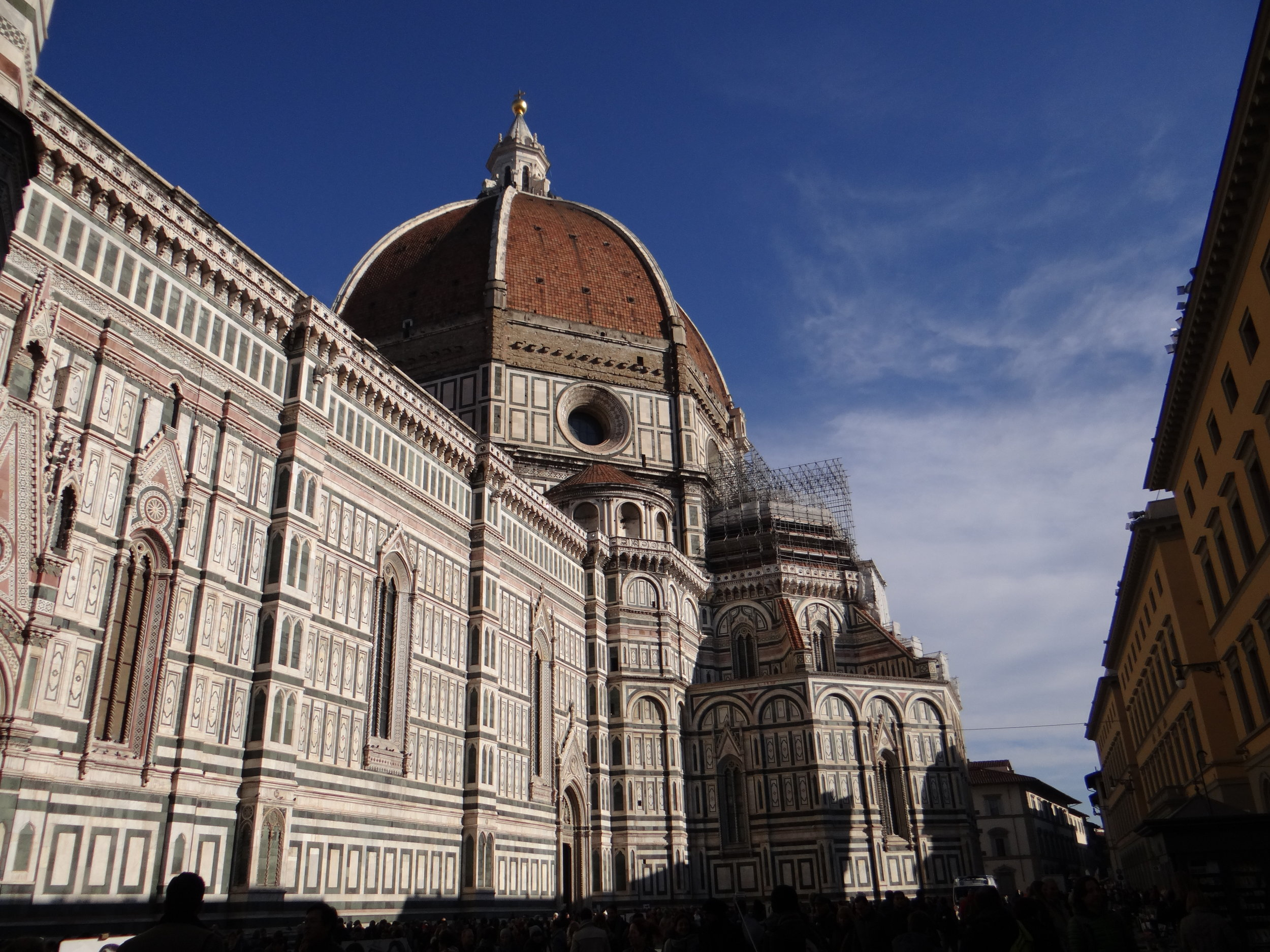 The famous Duomo in Florence, Italy.