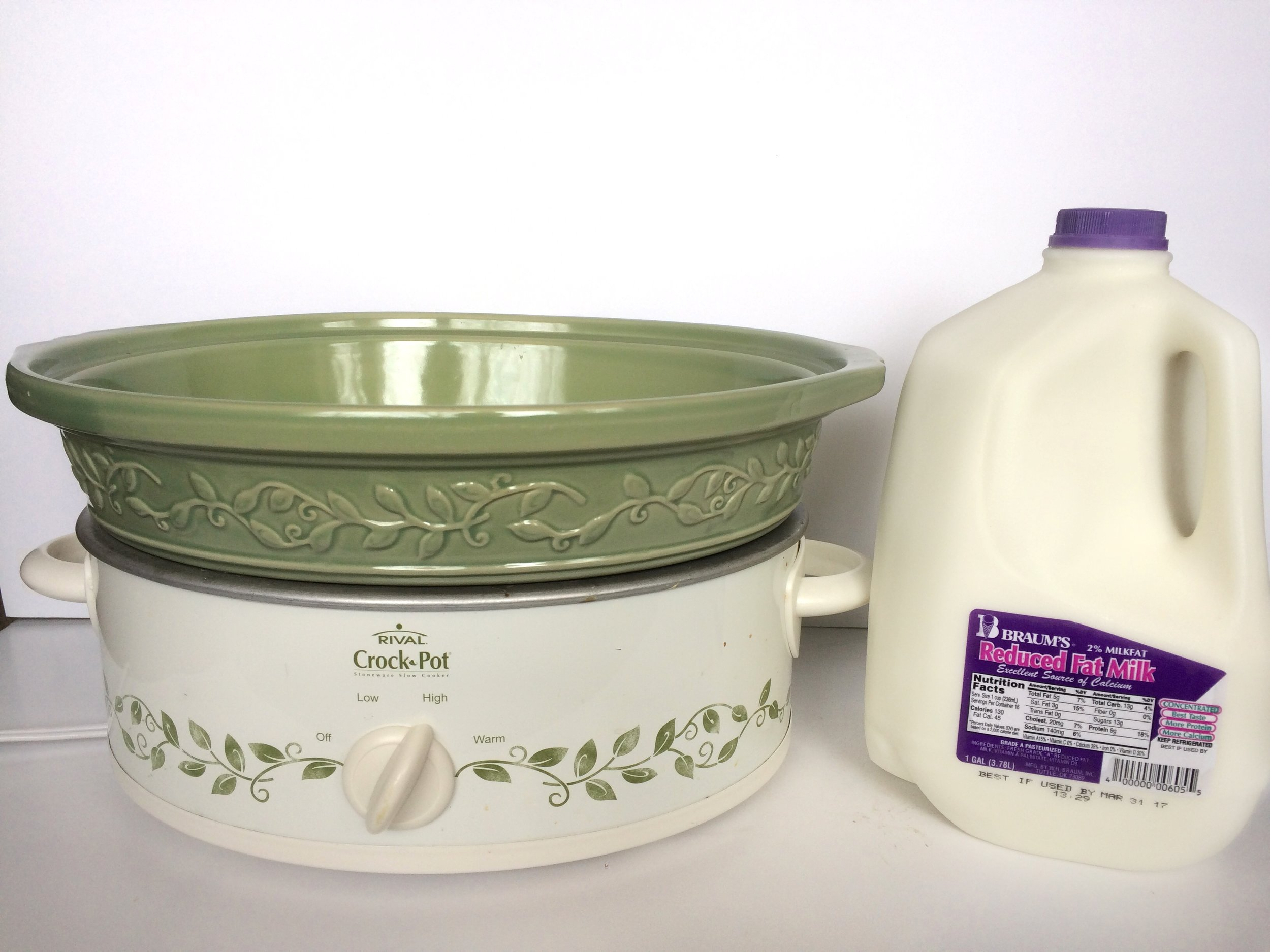 How to make homemade yogurt in the crockpot