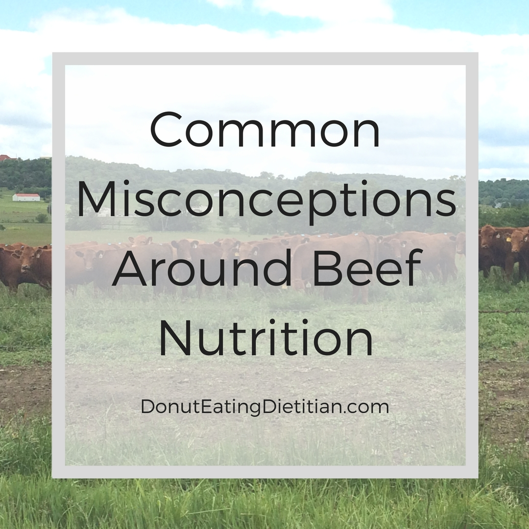 Common misconceptions around beef nutrition