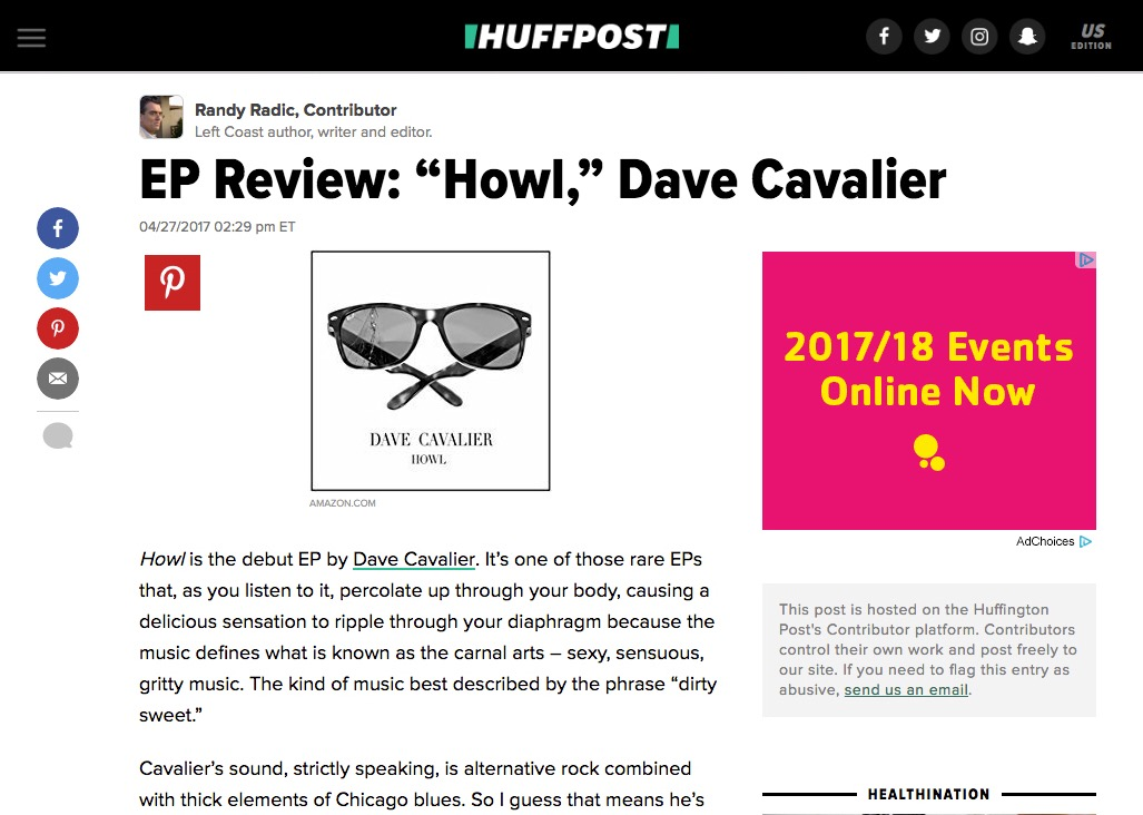 Huff Post Review