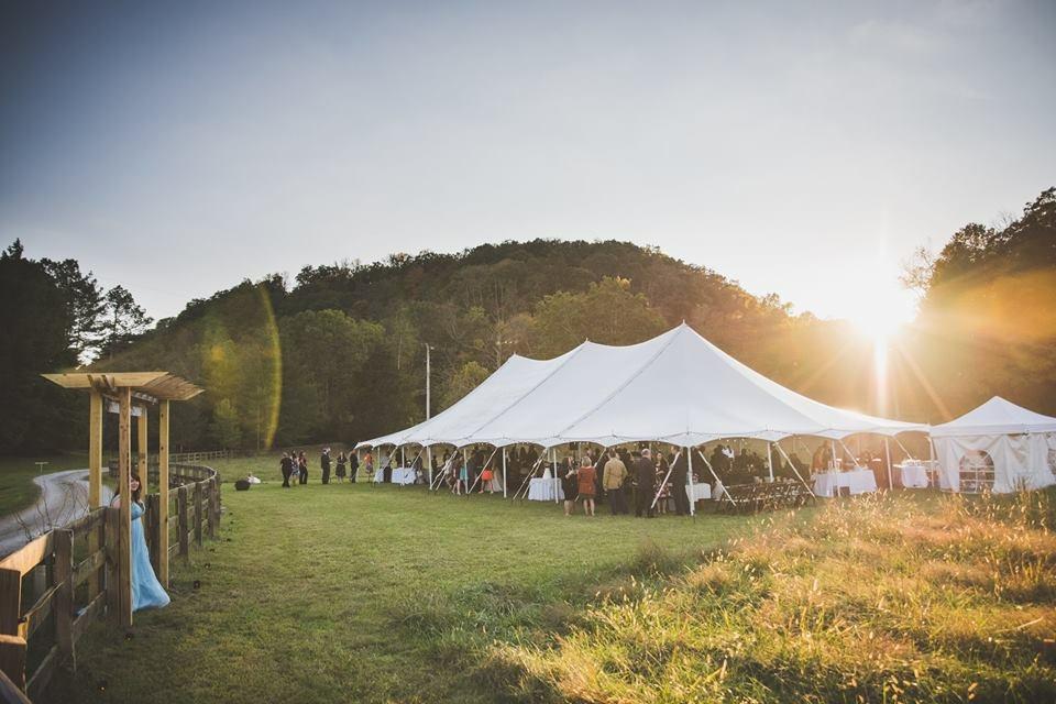 CL tent and sun set.JPG