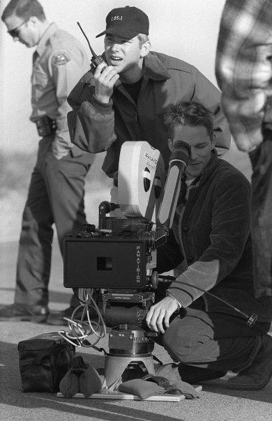"""Filming """"Tumbleweed"""" Photo by Kurt Jones"""